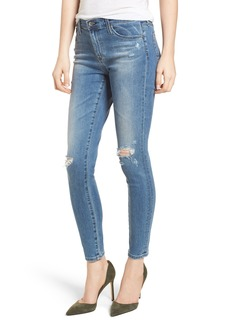 AG The Legging Ankle Jeans (Sea Sprite Destructed)