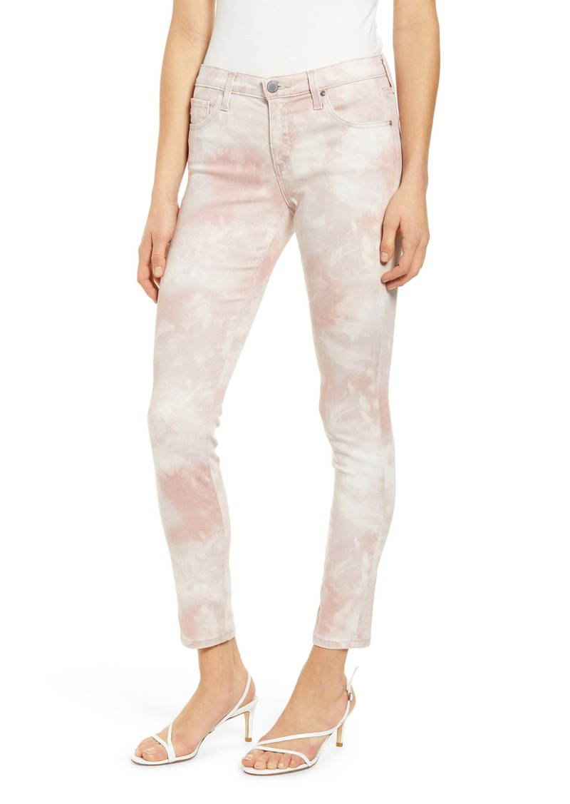 AG Adriano Goldschmied AG The Legging Ankle Skinny Jeans (Abstract Tie Dye Rocky Mauve)