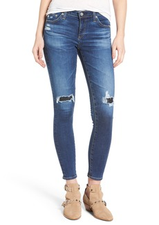 AG 'The Legging' Ankle Super Skinny Jeans (13 Years Dawn Mended)