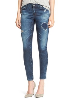 AG 'The Legging' Ankle Super Skinny Jeans (8 Year Whistler)