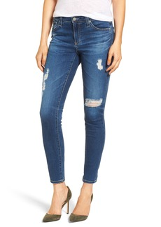 AG The Legging Ankle Super Skinny Jeans (08 Y Portrait with Destruction)