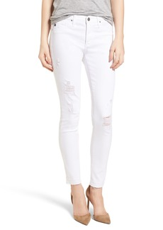 AG The Legging Ankle Super Skinny Jeans (Rudimentary White)