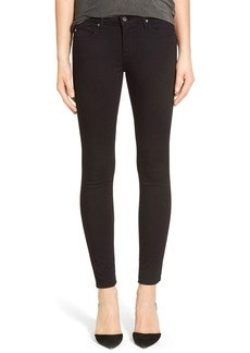 AG Adriano Goldschmied AG 'The Legging' Ankle Super Skinny Jeans (Super Black)
