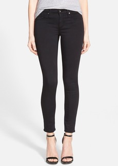 AG 'The Legging' Sateen Ankle Jeans (Super Black)
