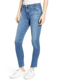 AG Adriano Goldschmied AG The Legging Frayed Ankle Super Skinny Jeans (15 Year Affinity)