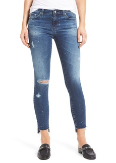 AG The Legging Step Hem Ankle Skinny Jeans (10 Years Beatnik)