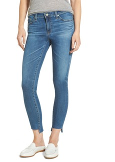 AG Adriano Goldschmied AG The Legging Step Hem Ankle Skinny Jeans (14 Years Blue Nile)
