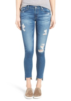AG The Legging Step Hem Ankle Skinny Jeans (Radiant Blue)