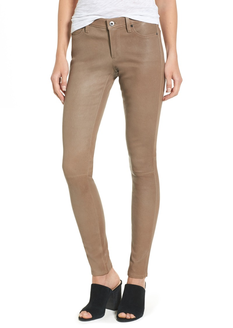 AG Adriano Goldschmied AG The Legging Super Skinny Leather Pants