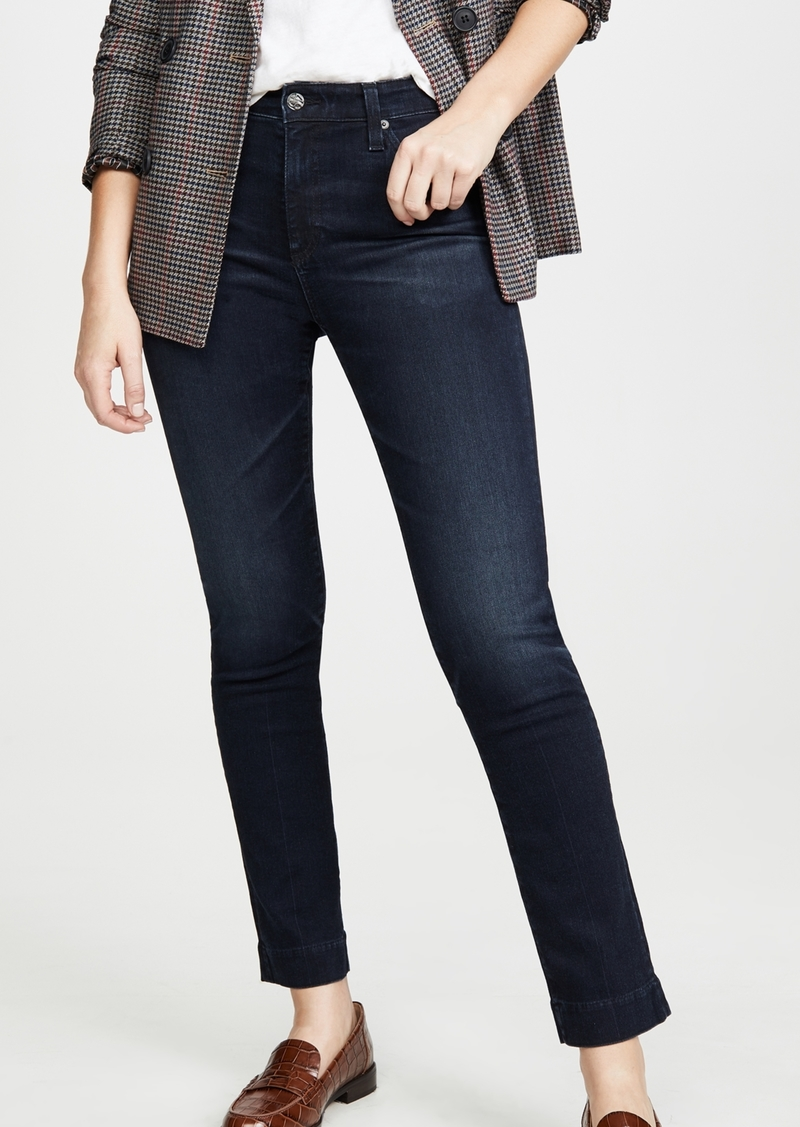 AG Adriano Goldschmied AG The Mari High Rise Slim Straight Jeans