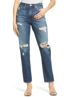 AG Adriano Goldschmied AG The Phoebe High Rise Slim Straight Leg Jeans