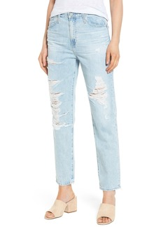 AG The Phoebe High Rise Slim Straight Leg Jeans