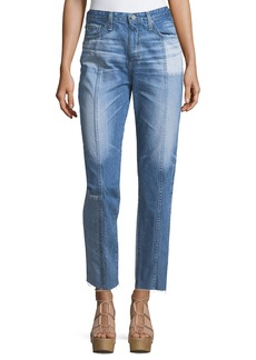 AG The Phoebe High-Rise Tapered Leg Jeans