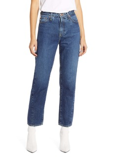 AG Adriano Goldschmied AG The Phoebe High Waist Ankle Straight Leg Jeans