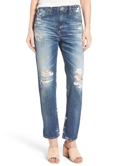 AG The Phoebe High Waist Straight Leg Jeans (23 Years Woven Dream)