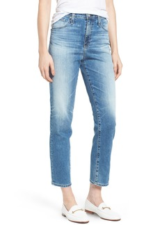 AG Adriano Goldschmied AG 'The Phoebe' Vintage High Rise Straight Leg Jeans (16 Years Indigo Deluge)