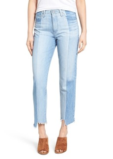 AG The Phoebe Vintage High Rise Straight Leg Jeans (19 Year Splinter)