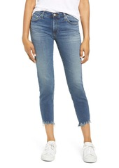 AG Adriano Goldschmied AG The Prima Destroyed Crop Hem Cigarette Jeans (13 Years Flowing)
