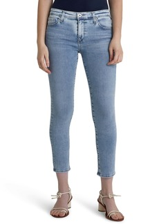 AG Adriano Goldschmied AG The Prima Mid Rise Crop Cigarette Jeans (Presence)