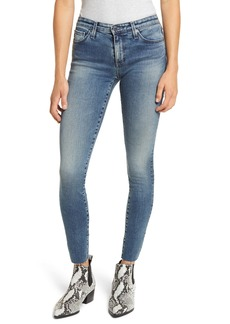 AG Adriano Goldschmied AG The Prima Raw Hem Ankle Cigarette Jeans