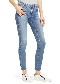 AG Adriano Goldschmied AG The Prima Raw Hem Ankle Skinny Jeans