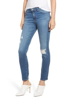 AG Adriano Goldschmied AG The Prima Ripped Ankle Cigarette Jeans (17 Years Enduring)