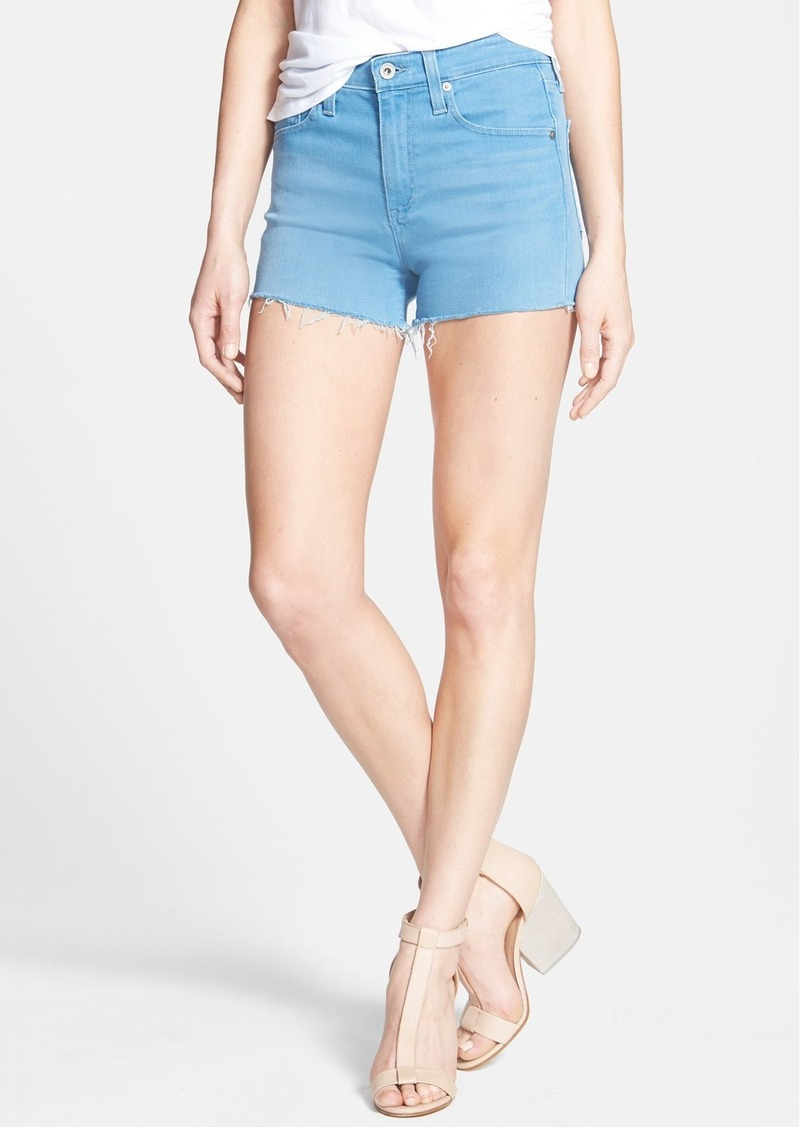 AG Adriano Goldschmied AG 'The Sadie' High Rise Cutoff Shorts (Wild Sky)