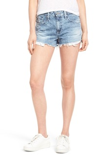 AG The Sadie High Waist Cutoff Denim Shorts (Ingenue)