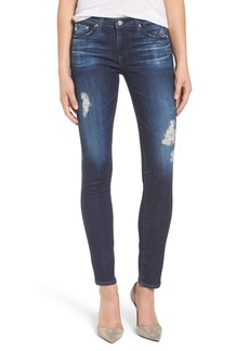 AG 'The Stilt' Cigarette Leg Jeans (7 Year Ripped)