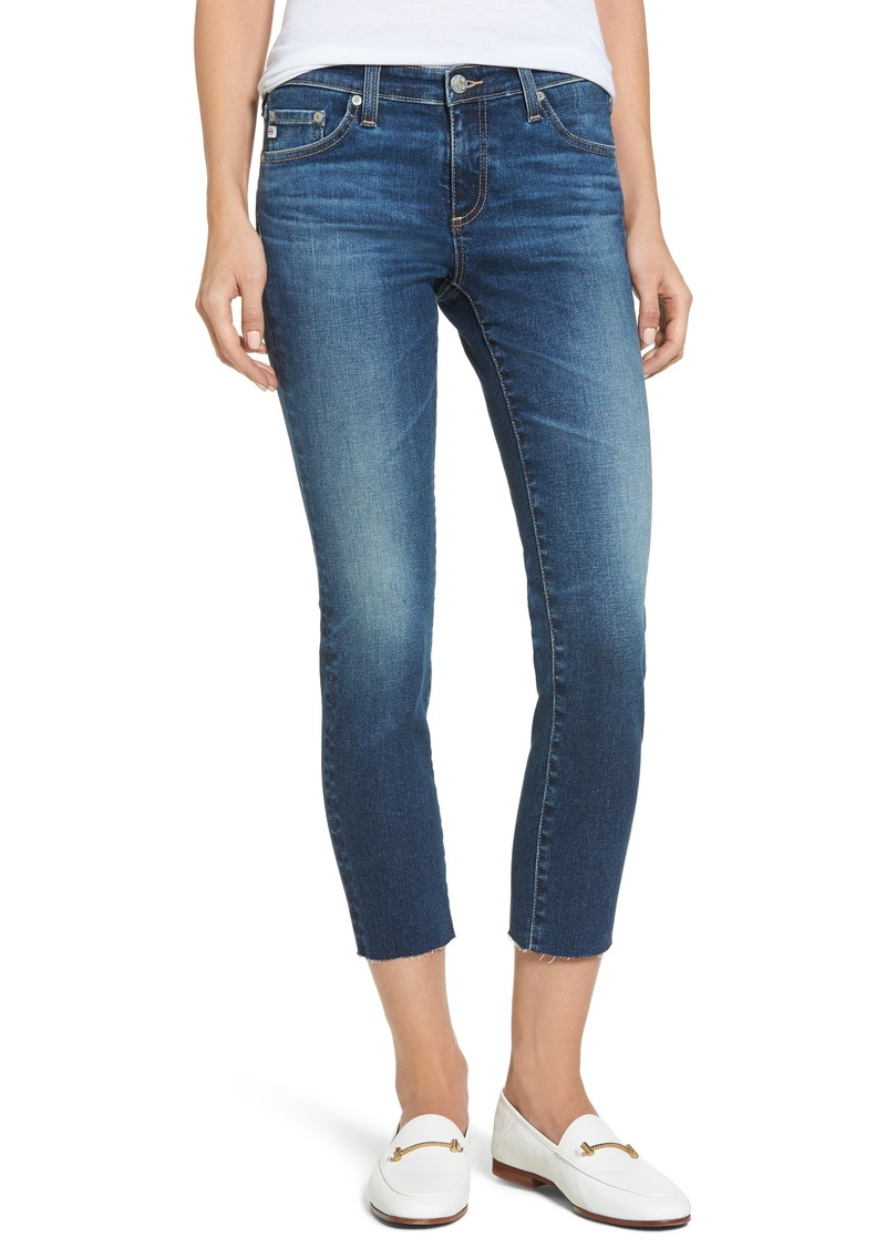 AG Adriano Goldschmied AG The Stilt Crop Skinny Jeans (5 Years Indigo Avenue)