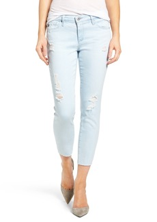 AG The Stilt Crop Skinny Jeans (Idyll Destroyed)