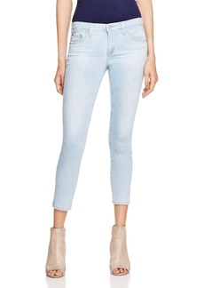 AG The Stilt Cropped Jeans in Blue Jay
