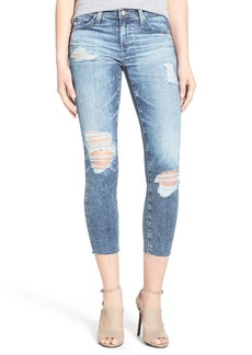 AG 'The Stilt' Destroyed Crop Skinny Jeans (11 Years Sail Away)
