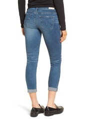 AG Adriano Goldschmied AG The Stilt Destructed Crop Skinny Jeans (13 Years Hunter Blue)
