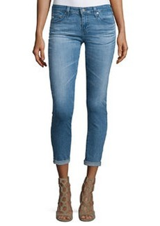 AG The Stilt Roll-Up Cropped Jeans