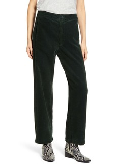 AG Adriano Goldschmied AG The Tomas High Waist Wide Leg Corduroy Trousers
