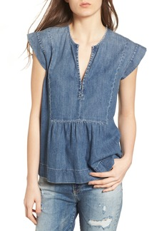 AG Adriano Goldschmied AG The Trista Denim Top