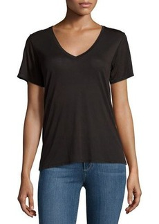 AG V Neck Worn Tee