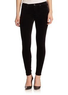 AG Adriano Goldschmied Velvet Skinny Jeans