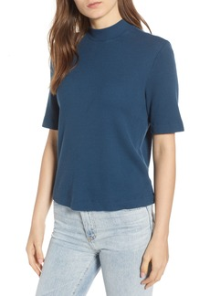 AG Adriano Goldschmied AG Yoni Thermal Mockneck Tee