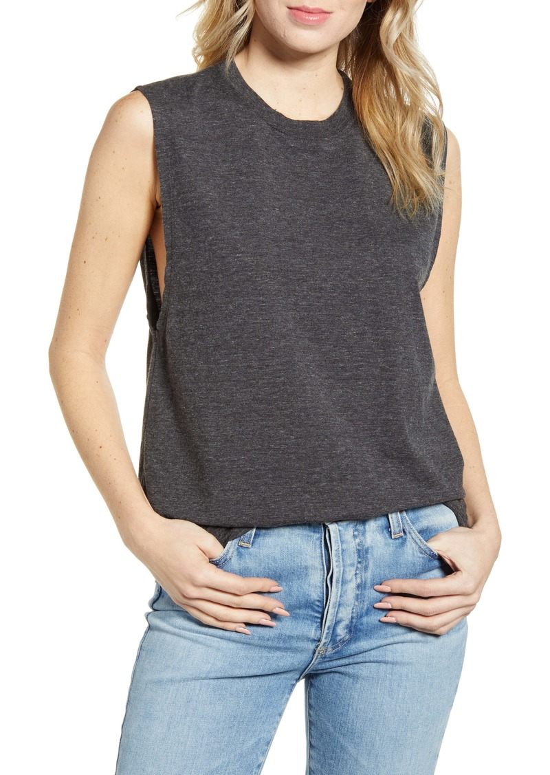 AG Adriano Goldschmied AG Zoey Heathered Tank Top