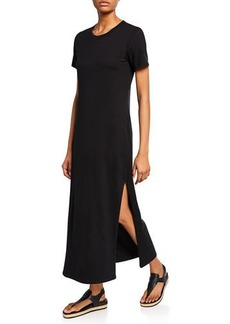 AG Adriano Goldschmied Alana Crewneck Short-Sleeve Dress