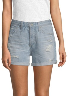 AG Adriano Goldschmied Alex Cut-Off Denim Shorts