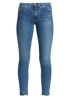 AG Adriano Goldschmied Ankle Cropped Legging Jeans