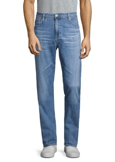 AG Adriano Goldschmied Athletic-Fit Straight Jeans