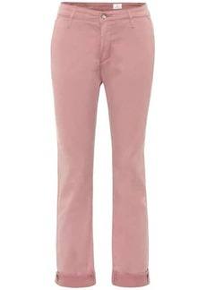 AG Adriano Goldschmied Caden Chino mid-rise straight jeans