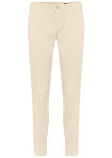 AG Adriano Goldschmied Caden stretch-cotton cropped pants