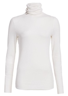 AG Adriano Goldschmied Chels Ribbed Turtleneck Top