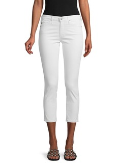 AG Adriano Goldschmied Cigarette Cropped Jeans