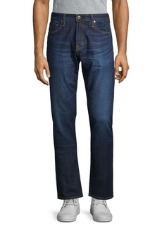 AG Adriano Goldschmied Classic Athletic-Fit Dark Jeans